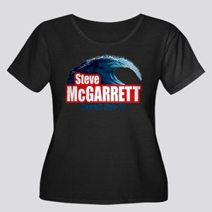 H50 Steve McGarrett Wave Plus Size T-Shirt