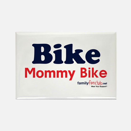 Bike Mommy Bike Rectangle Magnet (10 pack)