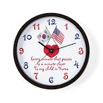 Waiting Adoption Korea Clock