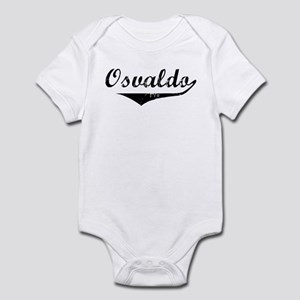 Osvaldo Vintage (Black) Infant Bodysuit