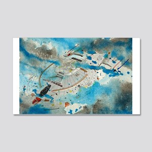 Voyager Water Color Wall Decal