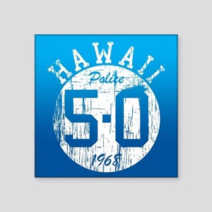 Vintage Style Hawaii 5-O Sticker