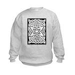 Celtic Knotwork Quasar Kids Sweatshirt