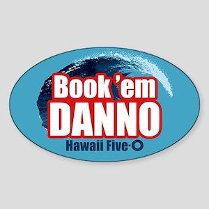 H5O Book Em Danno Sticker