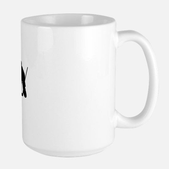 Hockey Rules Large Mug