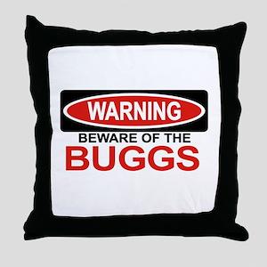BUGGS Throw Pillow