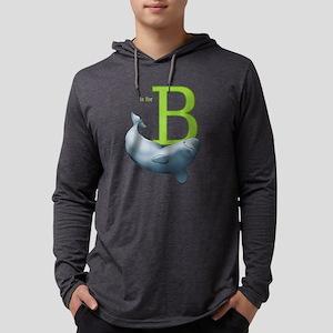 B is for Beluga Long Sleeve T-Shirt