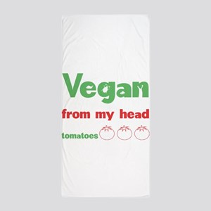 Vegan Beach Towel