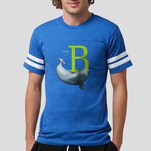 B Is For Beluga Mens Football T-Shirt