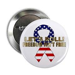 Let's Roll Patriotic Ribbon 2.25