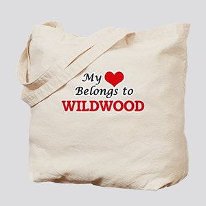 My Heart Belongs to Wildwood New Jersey Tote Bag