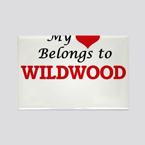 My Heart Belongs to Wildwood New Jersey Magnets