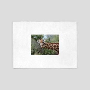Giraffe 006 5'x7'Area Rug