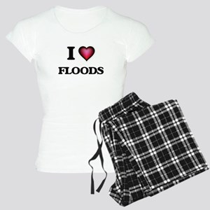 I love Floods Women's Light Pajamas