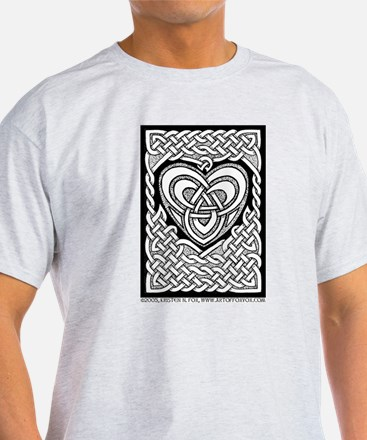 Celtic Knotwork Heart T-Shirt
