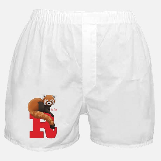 R is for Red Panda Boxer Shorts