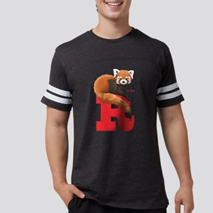 R Is For Red Panda Mens Football T-Shirt