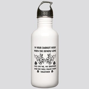 We Will Fight Them Tog Stainless Water Bottle 1.0L