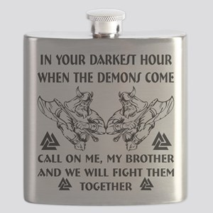 We Will Fight Them Together Flask