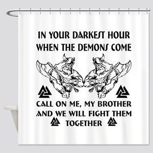 We Will Fight Them Together Shower Curtain