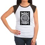 Celtic Knotwork Spin Women's Cap Sleeve T-Shirt