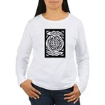 Celtic Knotwork Spin Women's Long Sleeve T-Shirt