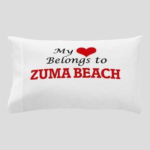 My Heart Belongs to Zuma Beach Califor Pillow Case