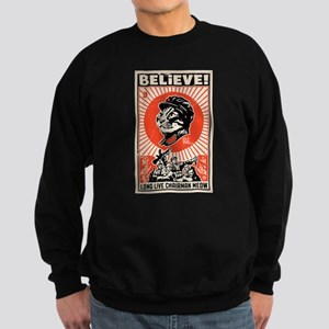 BELIEVE! Long Live Chairman Meow: Dark T-Shirt Swe