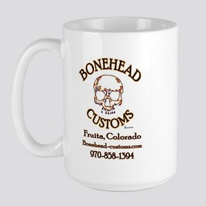 BoneHead Customz Garage Large Mug