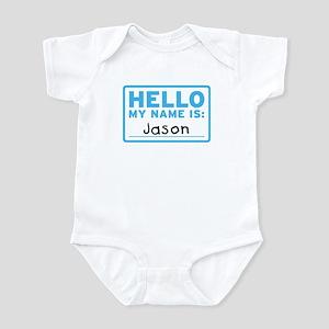 Hello My Name Is: Jason - Infant Bodysuit