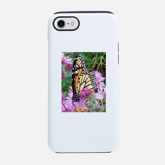 Monarch in Bee Balm iPhone 8/7 Tough Case