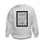 Celtic Cloverleaf Kids Sweatshirt
