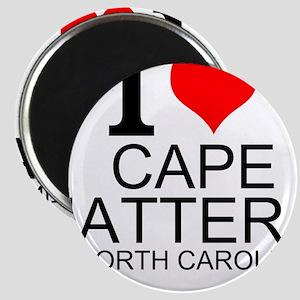 I Love Cape Hatteras, North Carolina Magnets
