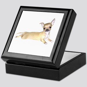 Tan Chihuahua Keepsake Box