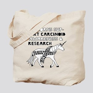 Unicorns Support Carcinoid Awareness & Re Tote Bag