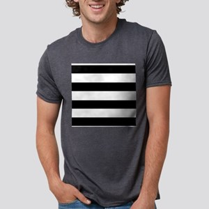 modern black white stripes T-Shirt
