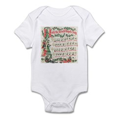 Hark! The Herald Angels Sing Infant Bodysuit