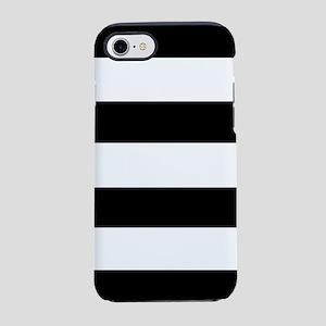 modern black white stripes iPhone 8/7 Tough Case