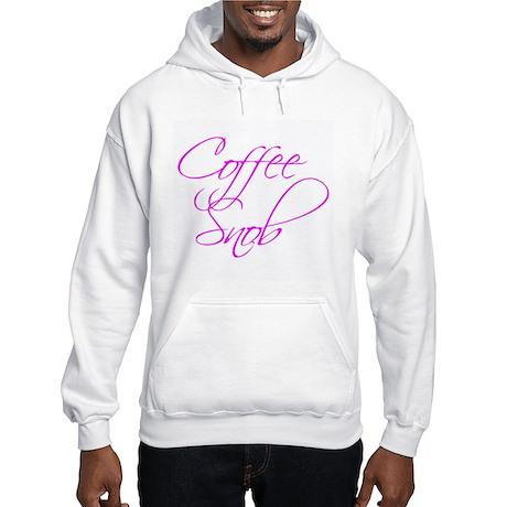 """Coffee Snob"" - Hooded Sweatshirt"