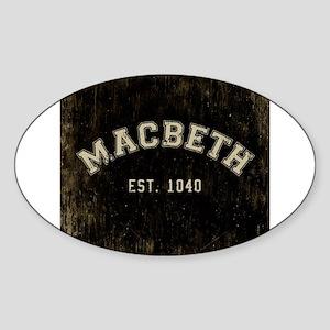 Retro Macbeth Sticker