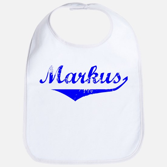 Markus Vintage (Blue) Bib