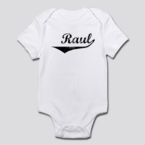Raul Vintage (Black) Infant Bodysuit