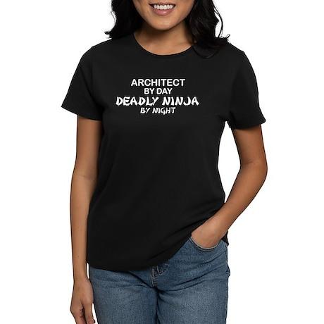Architect Deadly Ninja Women's Dark T-Shirt