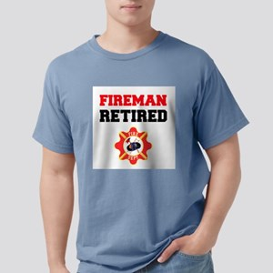Fireman Retired T-Shirt