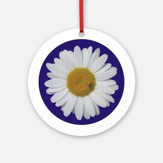 Daisy & Bee<br> Ornament (Round)