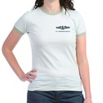 337 Jr. Ringer T-Shirt for the ladies, in colors.