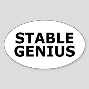 Stable Genius Sticker (Oval)
