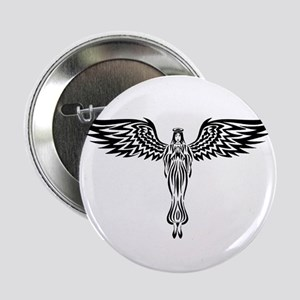 Tribal Angel Button