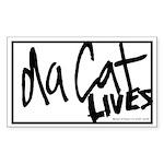 Da Cat Rectangle Sticker