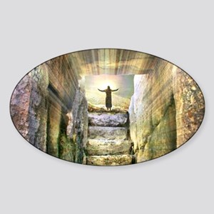 Easter Jesus Resurrection Empty Tomb Sticker